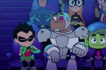 Behind the Teen Titans