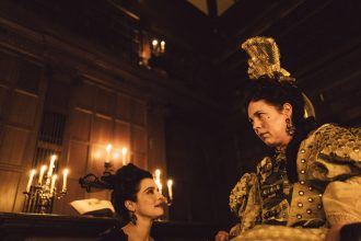 The Favourite at the 62nd BFI London Film Festival