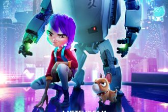 A girl & her robot saves the world