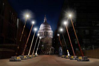 Breathtaking wand installation set to light up London