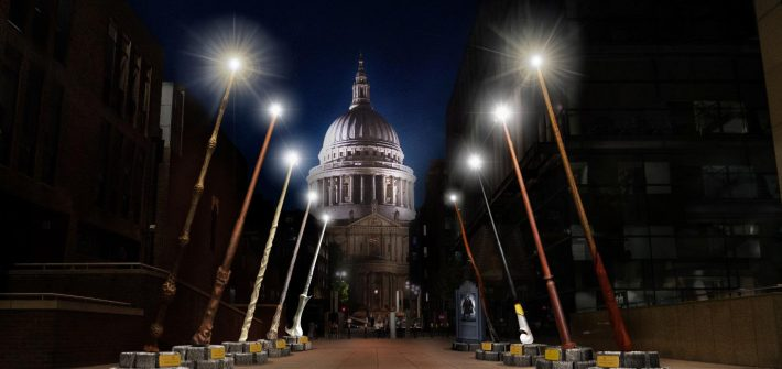 Breathtaking wand installation set to light up London