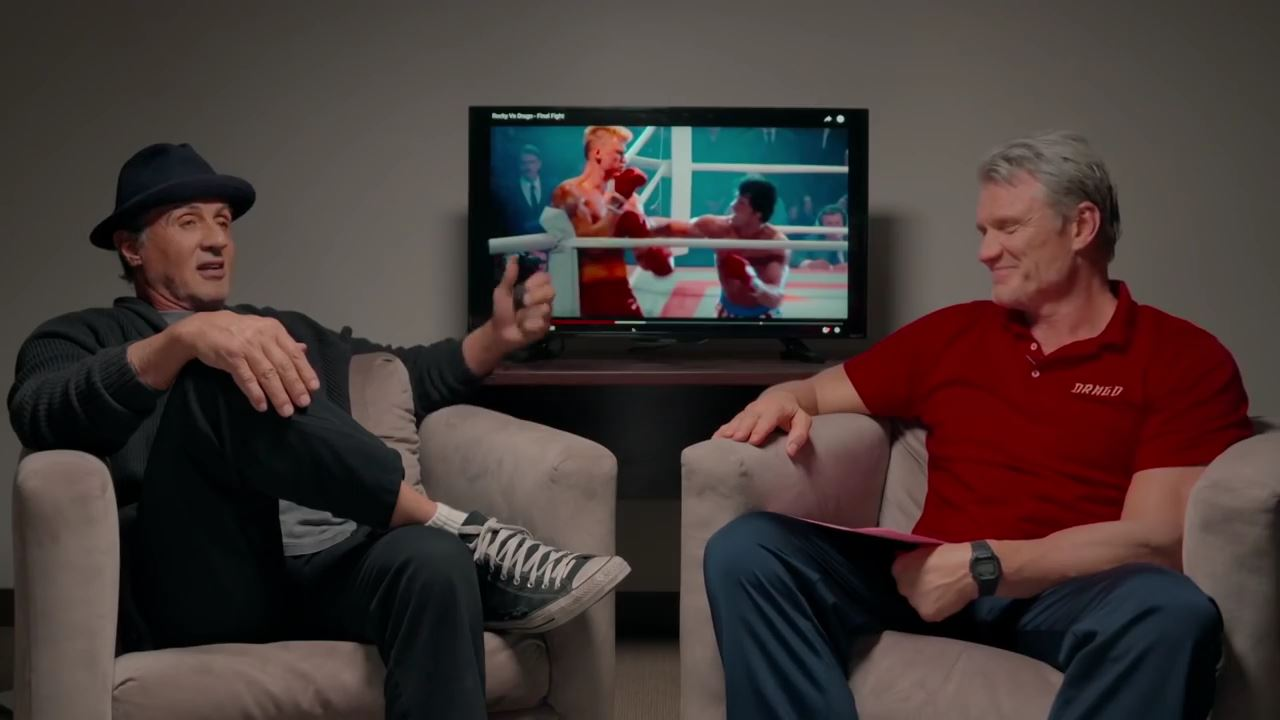 """CREED II – """"Sylvester Stallone & Dolph Lundgren – Finding Dolph"""""""