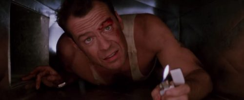 John McClane in Die Hard