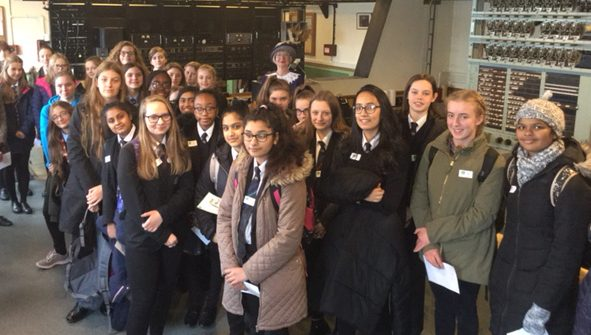 TNMOC Girls' STEM day