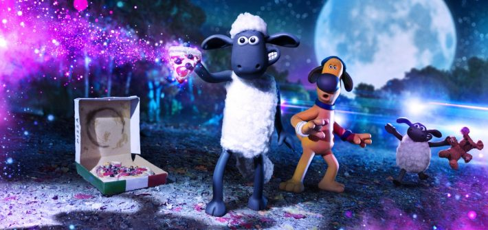 Shaun the Sheep meets some new friends