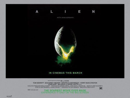 ALIEN 40th anniversary poster
