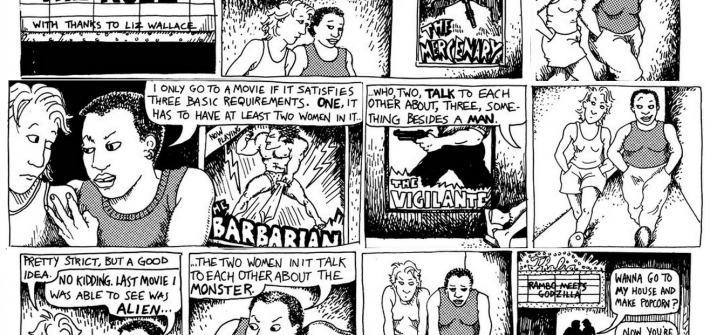 Women in films & Alison Bechdel