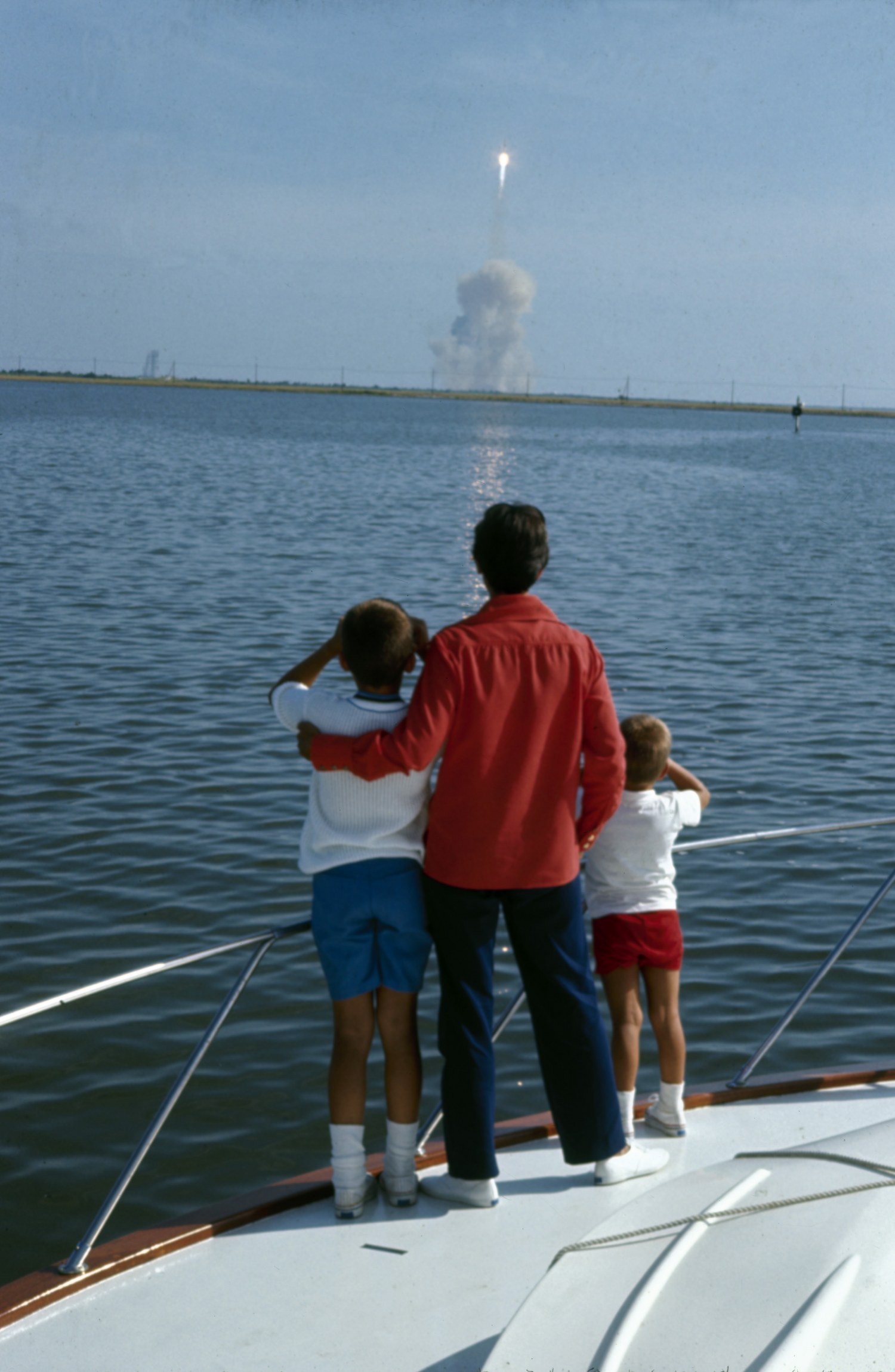 Credit Vernon Merritt III LIFE Picture Collection. The Armstrongs Watch Apollo 11 Launch