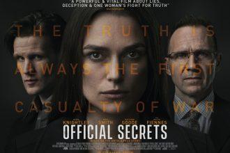 Official Secrets has a poster