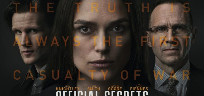 Official Secrets has a poster