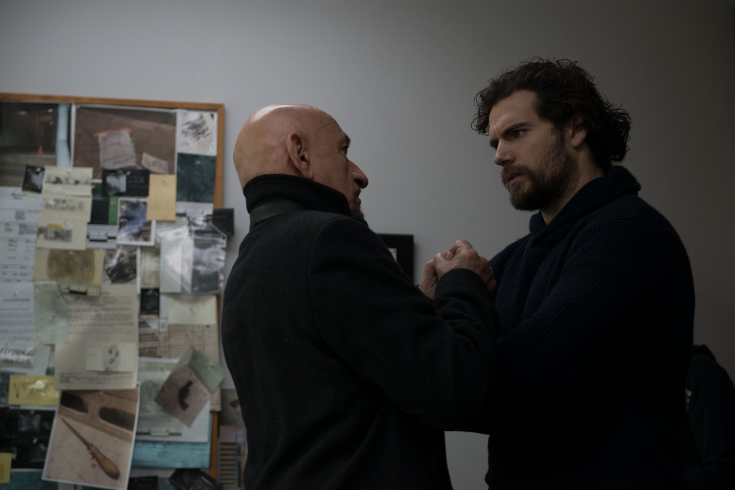 Ben Kingsley and Henry Cavill – Night Hunter (Signature Entertainment)