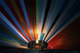Escape to freedom via Balloon