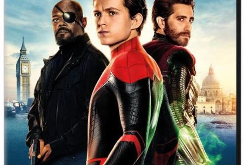 Spider-Man swings home