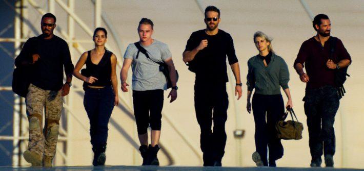 Ryan Reynolds and the 6 Underground trailer