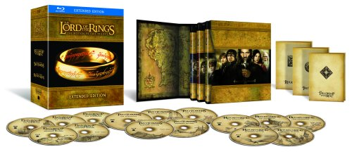 Lord of the Rings edtended box set