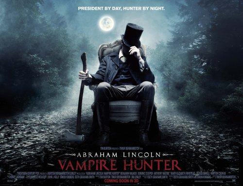 Abraham Lincoln Vampire Hunter poster