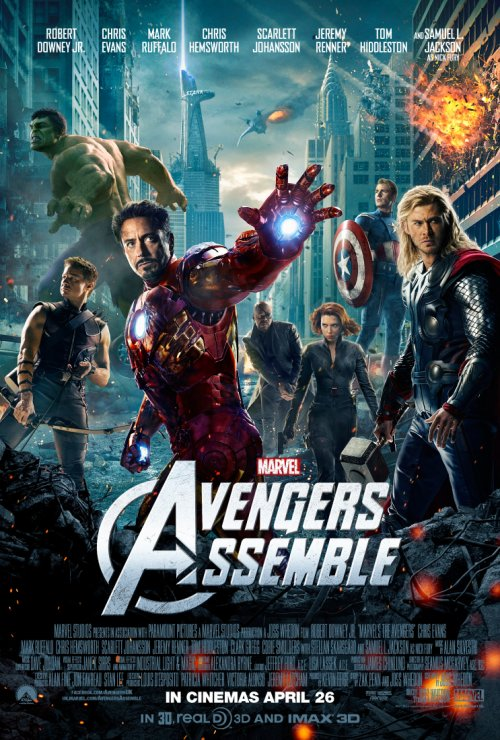 Marvel Avengers Assemble UK Poster