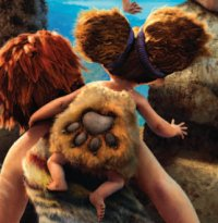 Prehistoric critters help The Croods?