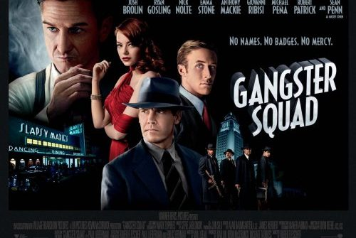 Gangster time hits posters