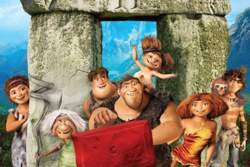 The Croods take on The Chancellor