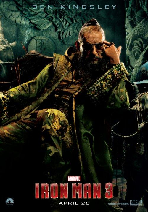 The Mandarin – Iron Man 3 Character poster