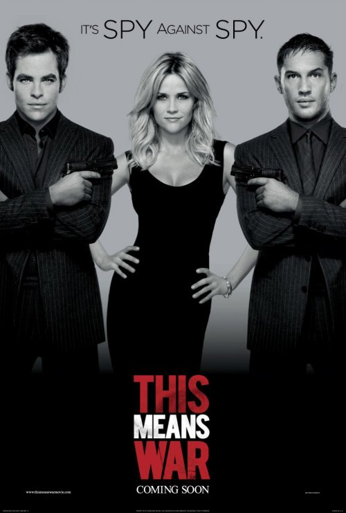 This Means War. Monochrome poster