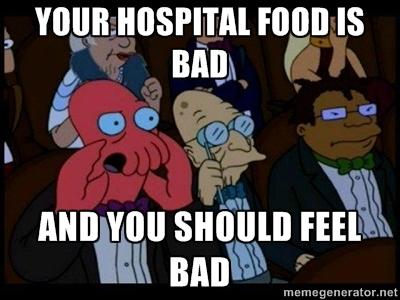 The MAIN reason why I hate hospital stays