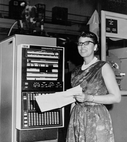 Melba Roy. NASA Computer
