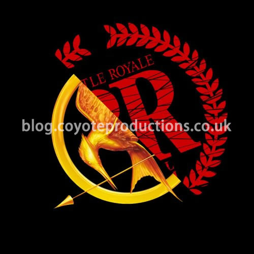 The Hunger Games / Battle Royale logos