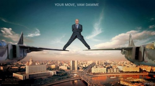 Your move JCVD, love Putin