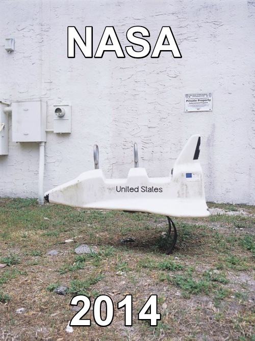 The US Space Program in 2014 – I think not
