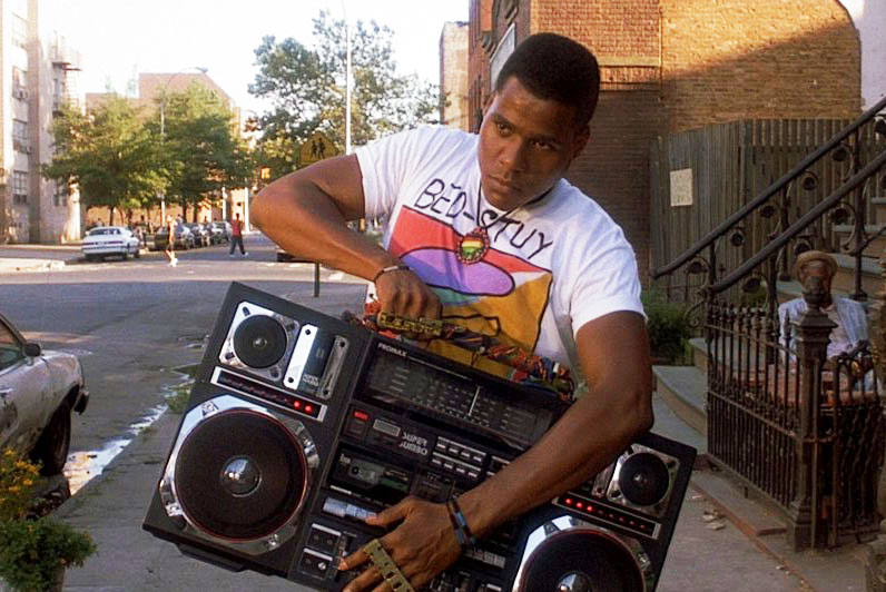 Do the right thing ghetto blaster