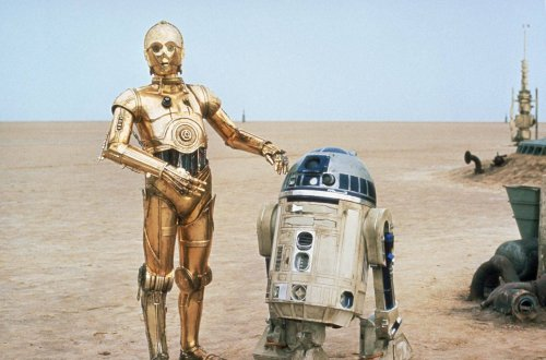 C-3PO and R2D2