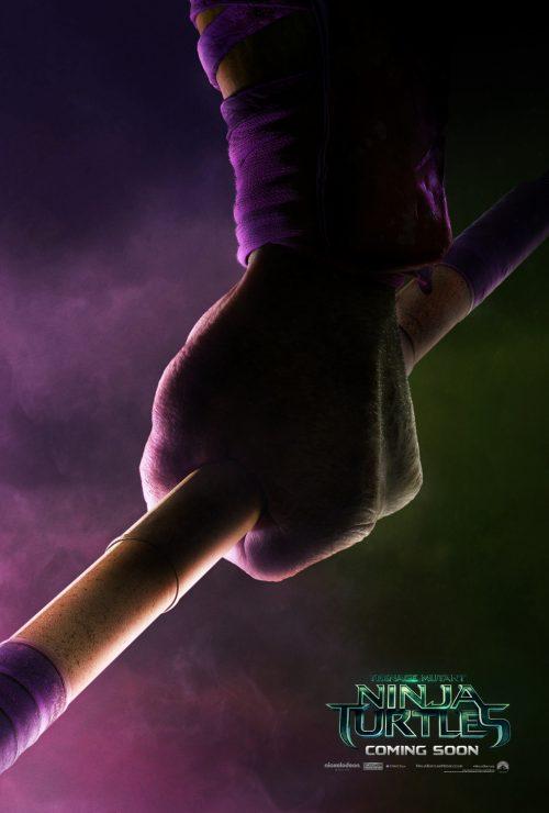 Teenage Mutant Ninja Turtles Teaser poster - Donatello