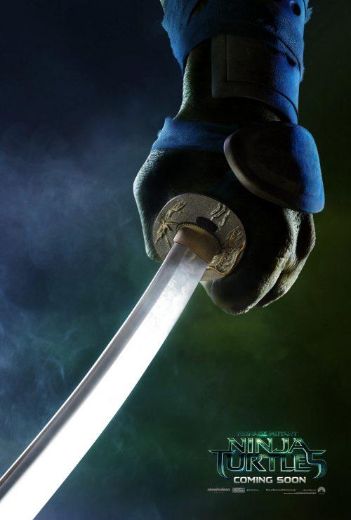 Teenage Mutant Ninja Turtles Teaser poster - Leonardo