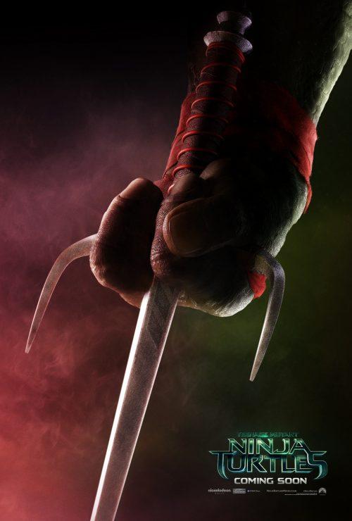 Teenage Mutant Ninja Turtles Teaser poster - Raphael