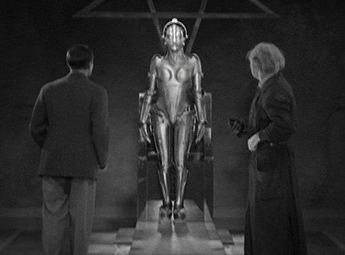 Evil Maria robot from metropolis