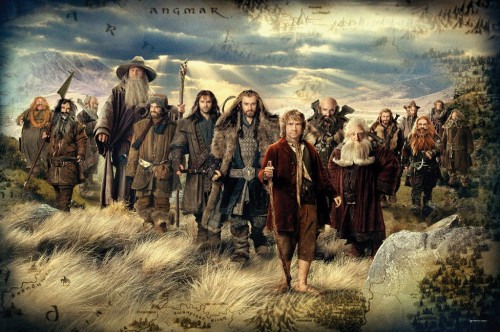The Hobbit crew