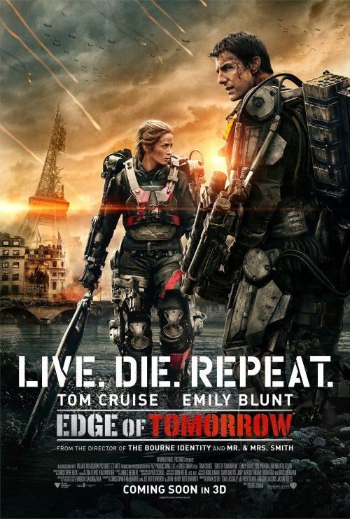 Edge of Tomorrow Paris poster