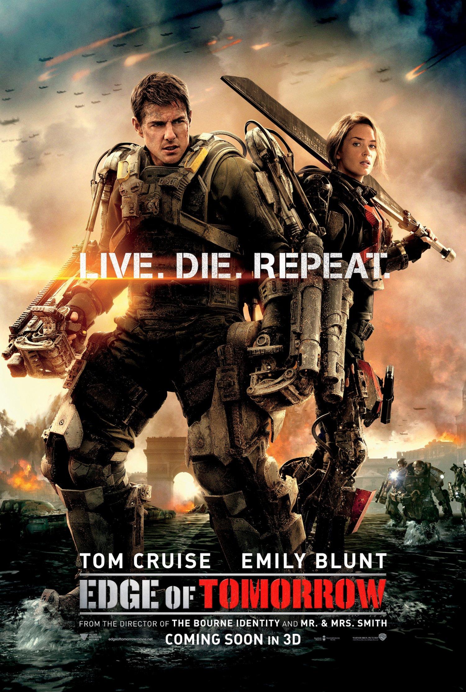Edge of Tomorrow poster 1