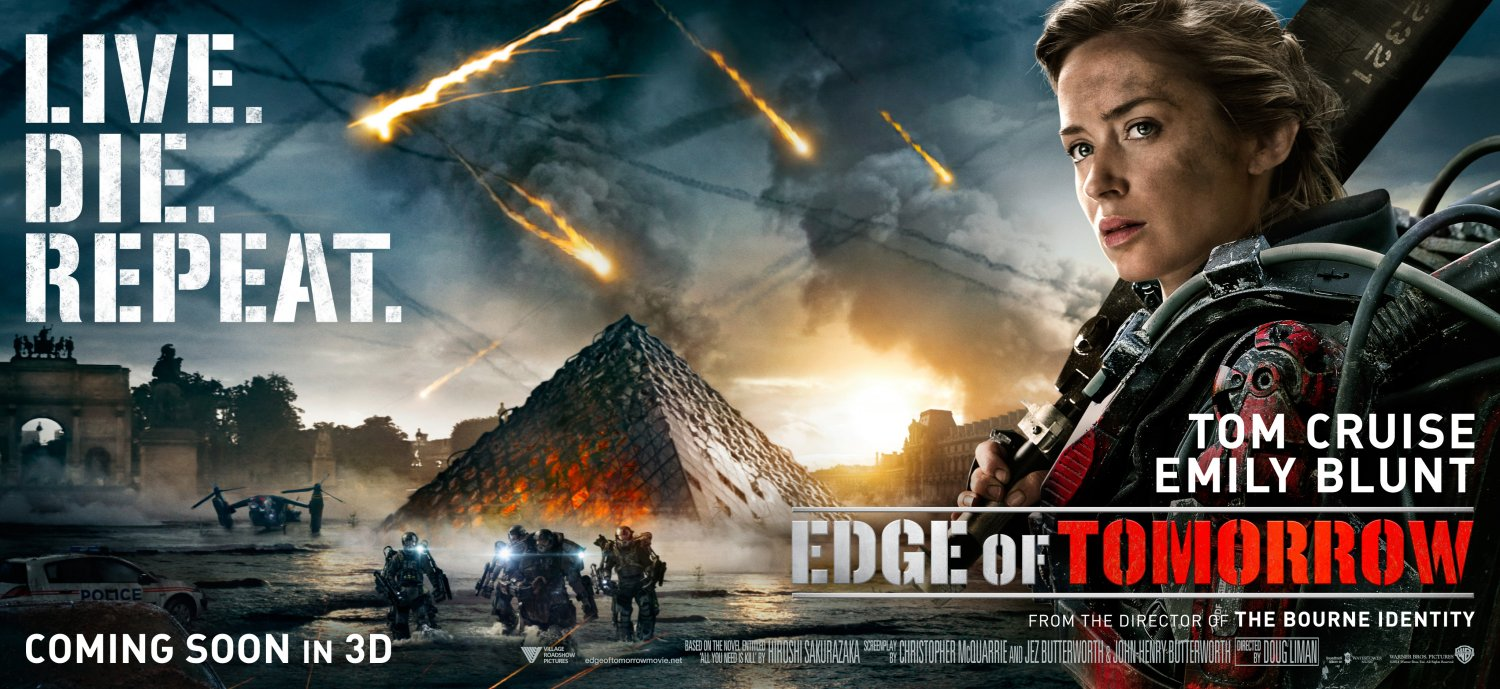 Edge of Tomorrow – Paris poster with Emily