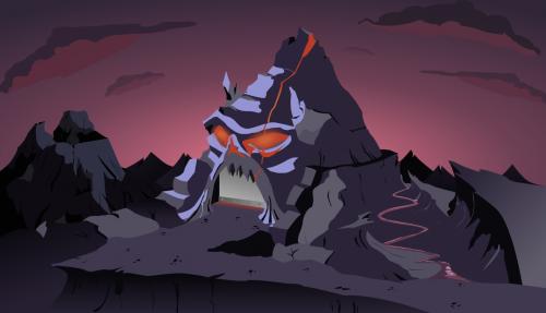 Evil lair