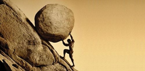 Sisyphus and his quest