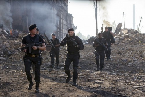 The Expendables 3 - old and young together