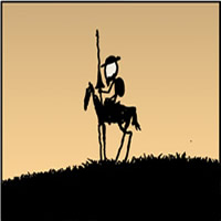 The man from La Mancha and his quest