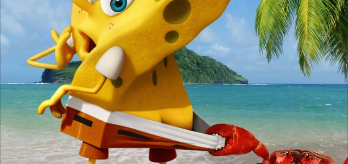 Spongebob gets a second movie.
