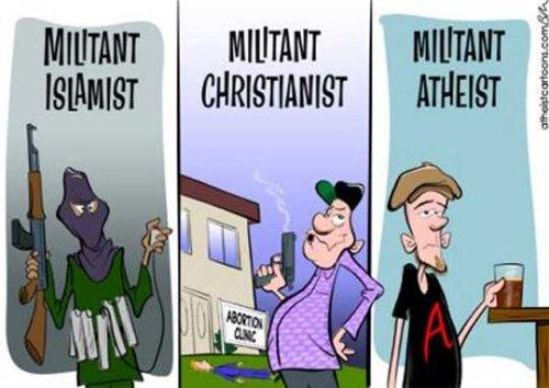 militant athiest