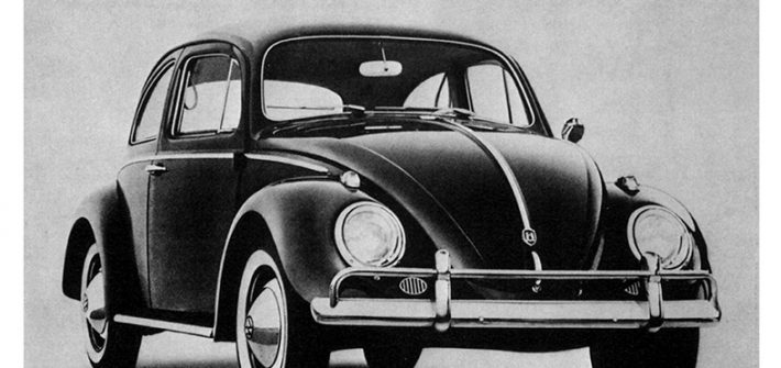 Beetle advertising over the years