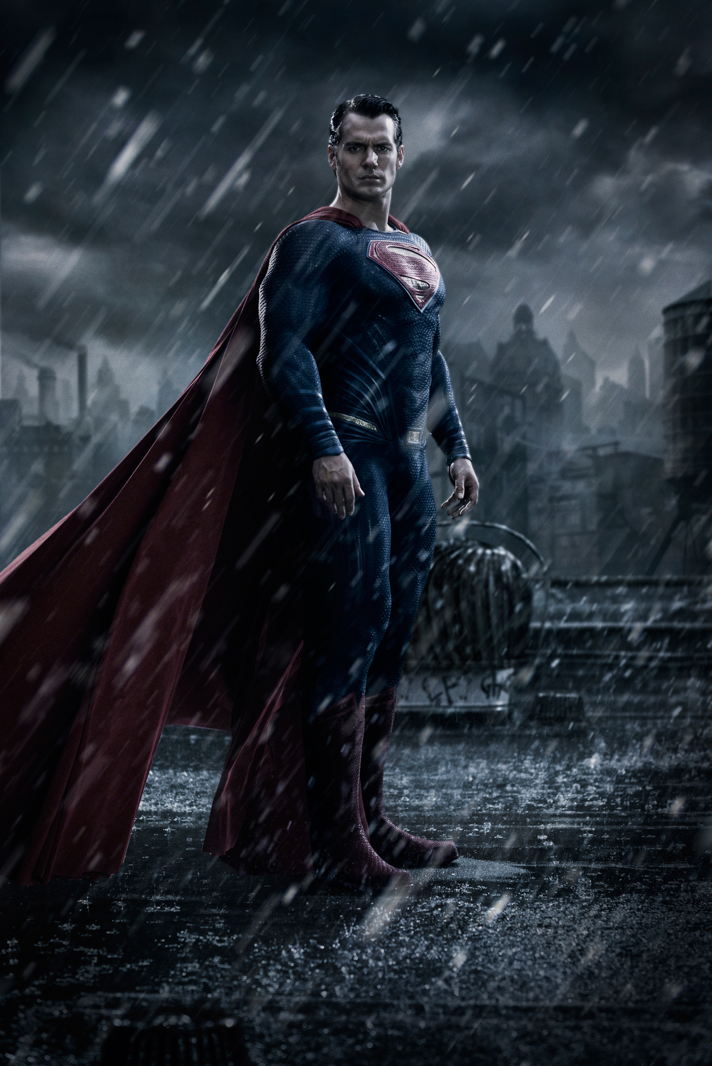 Henry Cavill as Superman from Batman Vs Superman – first image