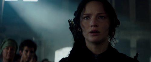 Mockingjay Part 1 - Our Leader the Mockingjay, Katniss